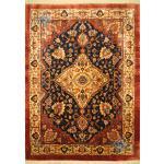 قالیچه دستباف قشقایی پشم دستریس و رنگ گیاهی