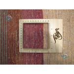 قالیچه دستباف گبه شیرازی طرح جدید مدرن اسپرت