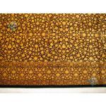دوازده متری دستباف تمام ابریشم قم تولیدی حسینی طرح ورساچه