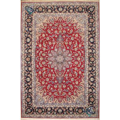 شش متری دستباف اصفهان کرک و ابریشم