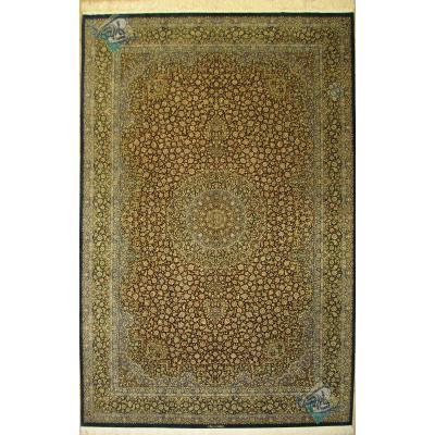 شش متری تمام ابریشم دستباف قم تولیدی محسن فلاح گلریز
