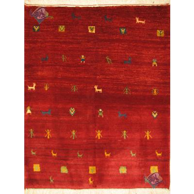 Rug Gabeh Handwoven Ghashghai Nomads Design