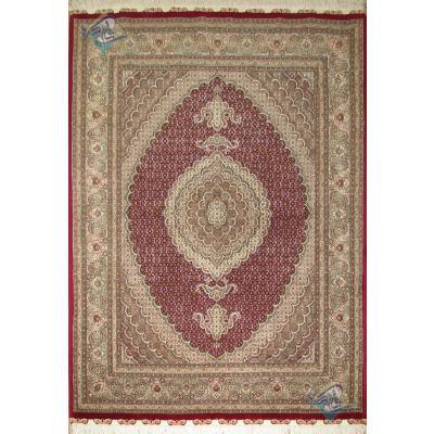 قالیچه دستباف نقشه جدید ماهی یازده متن رنگ ویژه