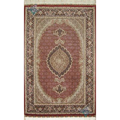 Zar-o-Nim Tabriz Carpet Handmade Mahi Design