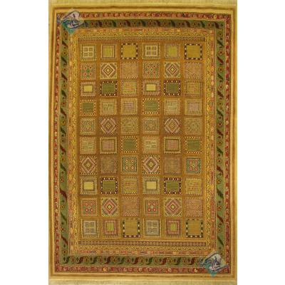حدود 6 متری دستباف سوزنی فرش سیرجان