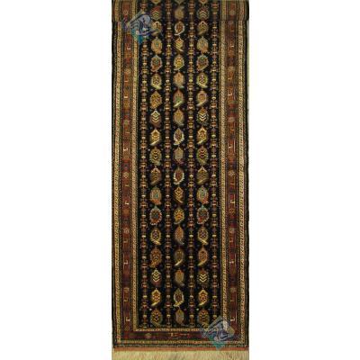 کناره سه و نیم متر دستباف تربت جام تمام پشم رنگ گیاهی