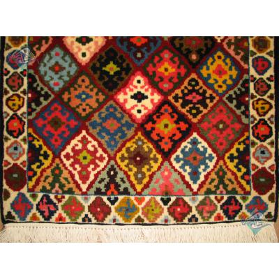 سایز پشتی دستباف شیراز طرح گلیم قشقایی
