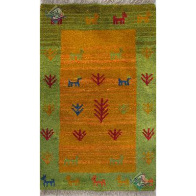 Mat Gabeh Carpet Handmade Nomadic Design All Wool