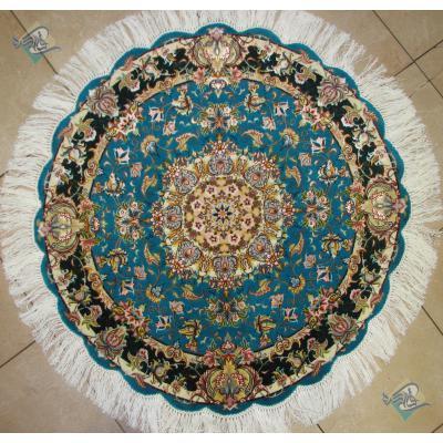 Circle Tabriz Handwoven Carpet Salary  Design