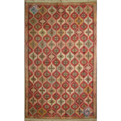 قالیچه گلیم ورنی