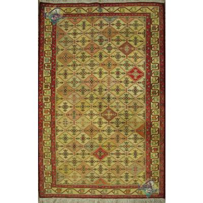 قالیچه گلیم ابریشم دشت مغان